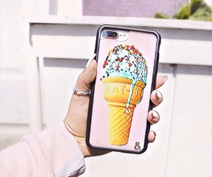 filter, phone case, and ice cream image