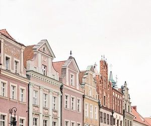 pink, Poland, and terrace image