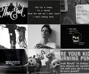 black, brendon urie, and edit image