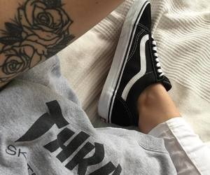 vans, fashion, and tattoo image