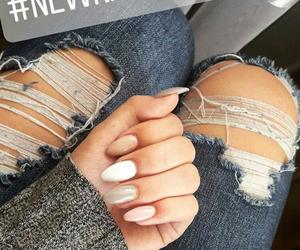 details, girl, and nails image