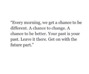 quotes, future, and chance image