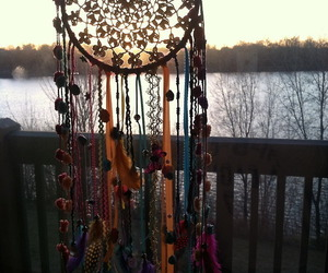 Dream, dreamcatcher, and dream catcher image