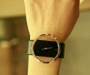 watch and black image