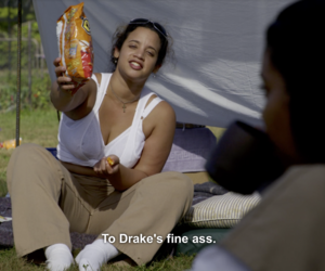 Drake, orange is the new black, and drawing outline baddie image