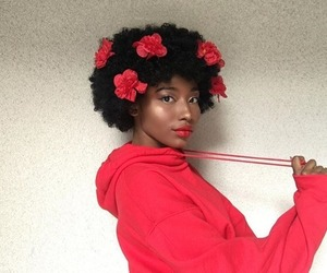 Afro, blackout, and valentines image