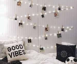 room, home, and lights image