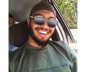 smile and bg image