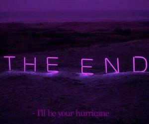 fin, frasi, and hurricane image
