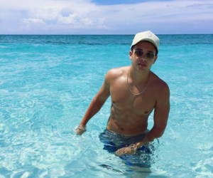 beach, boy, and austin mahone image