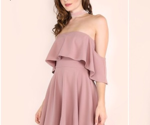 dresses, girl, and outfit image