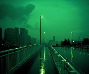 green, city, and aesthetic image