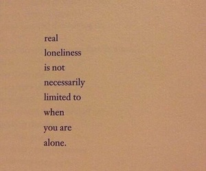 alone, book, and loneliness image