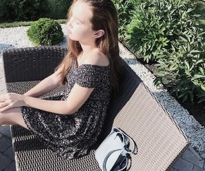 beauty, bohemian, and dress image