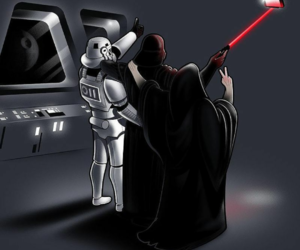 DarthVader, film, and fun image