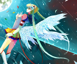 sailor moon, usagi tsukino, and eternal sailor moon image