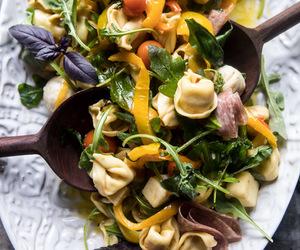 food, italian, and salad image