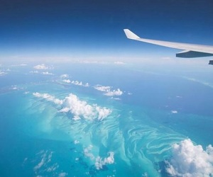 travel, sky, and blue image