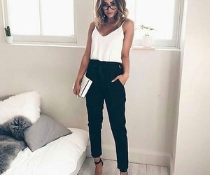 black&white, clothes, and fashion image