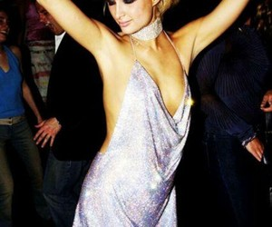 paris hilton, dress, and fashion image