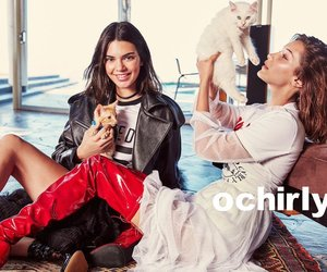 fashion, kendall jenner, and bella hadid image