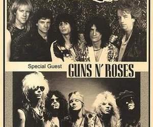 aerosmith, Guns N Roses, and band image
