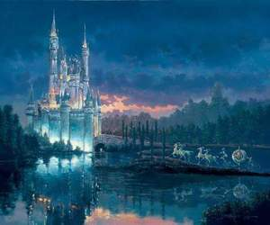 cinderella, disney, and castle image
