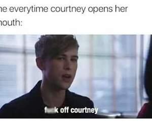 courtney, humour, and teenage image