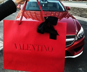 bag, car, and present image