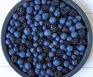 food, blue, and healthy image