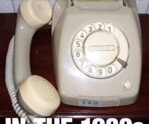 old skool, rotary phone, and ma bell image