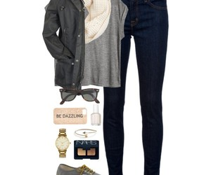 casual, outfit, and back to school image