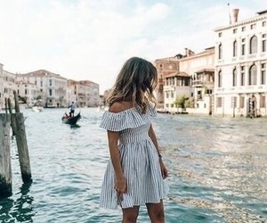 fashion, travel, and dress image