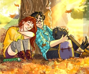 marauders, lily evans, and padfoot image