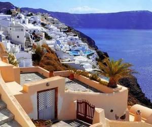 Greece, grecia, and santorini image