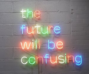quote, rainbow, and wall image