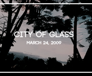 book, edit, and city of glass image