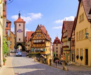 city, germany, and travel image