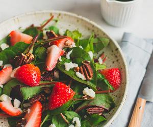 food, summer, and salad image
