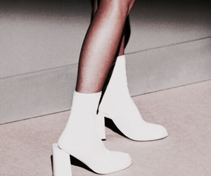 shoes, white, and style image
