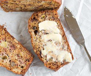 banana, sweets, and bread image