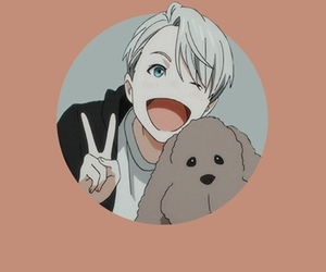 victor, wallpaper, and yuri!!! on ice image
