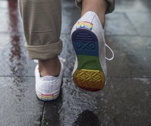 shoes and lgbtq image