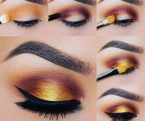 makeup, eyeshadow, and tutorial image