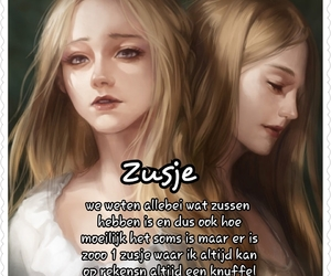 poem, sister, and zusjes image