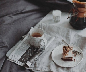 cafe, coffee, and cake image