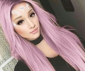 ariana grande, beauty, and makeup image