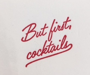 quotes, cocktail, and red image