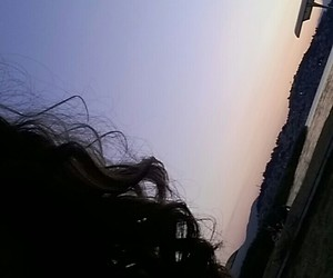 clouds, me, and sunset image