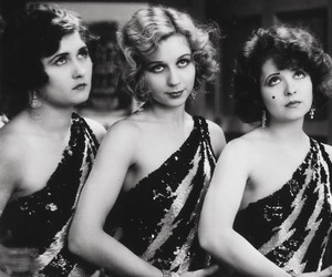 1920s, clara bow, and old hollywood image